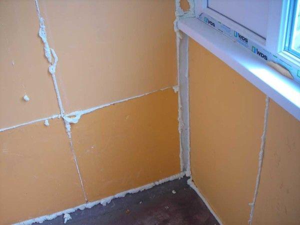 Утепление стен угловой квартиры в панельном доме изнутри, монтаж