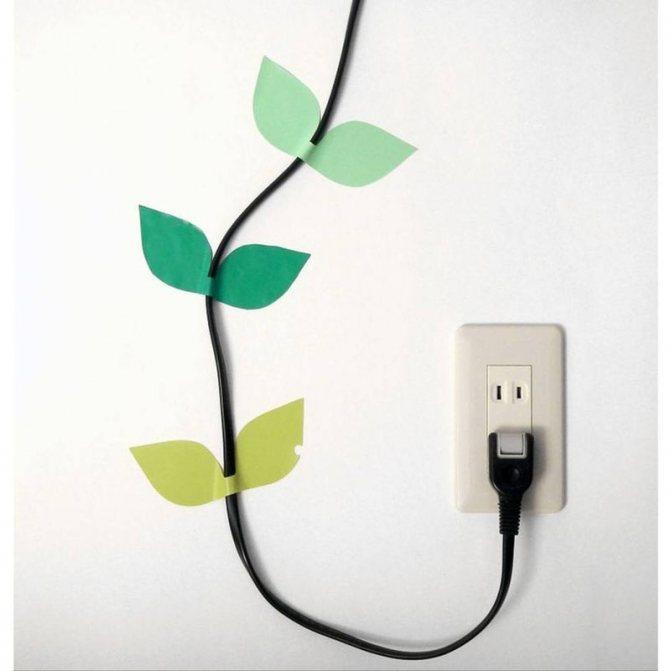 Как спрятать провода от телевизора на стене: лучшие идеи по оформлению