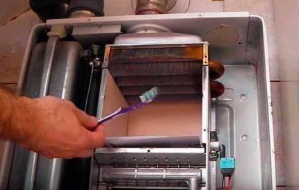 Как промыть теплообменник газового котла в домашних условиях? - oteple.com