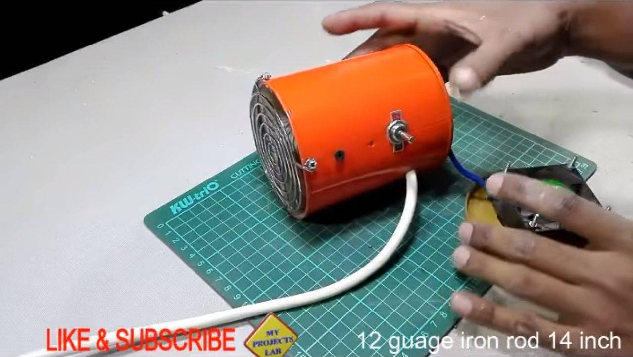 Изготовление обогревателя для дома своими руками