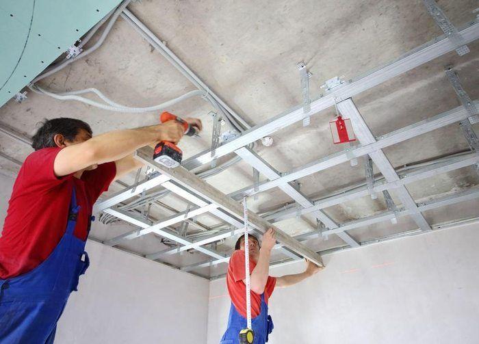 Как сделать монтаж потолка армстронг – пошаговое руководство