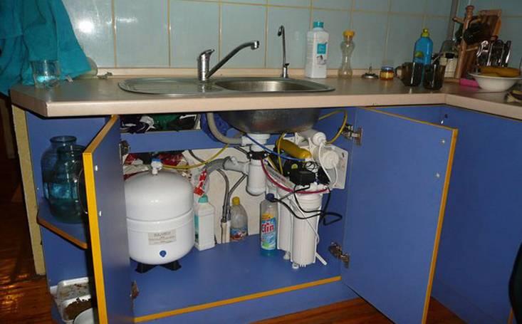 Фильтр для воды: выбор модели и установка