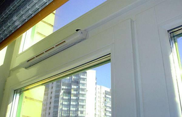 Вентиляция на балконе (лоджии): способы и их реализация