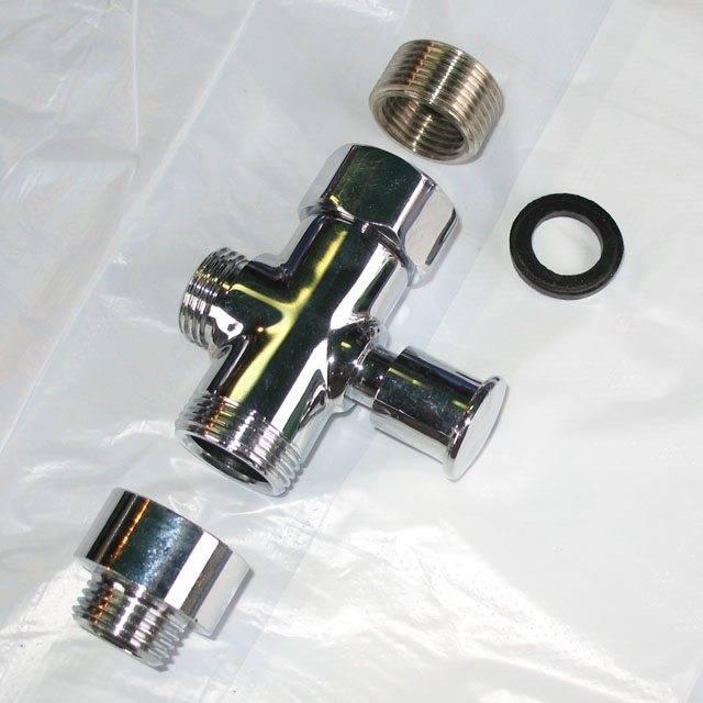 Дивертор для смесителя - конструкция, функции, установка. жми!