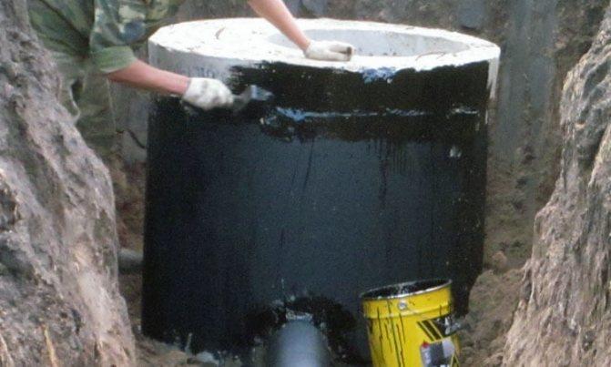 Как и чем проводится гидроизоляция канализационных колодцев