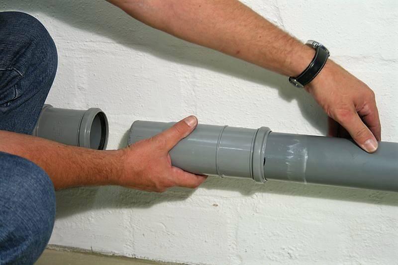 Герметизация канализационных труб: как загерметизировать стыки пвх и чугунных труб без разборки