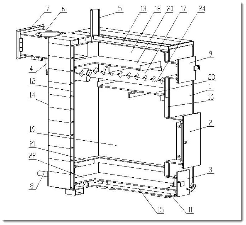 Устройство и схема пиролизного котла своими руками