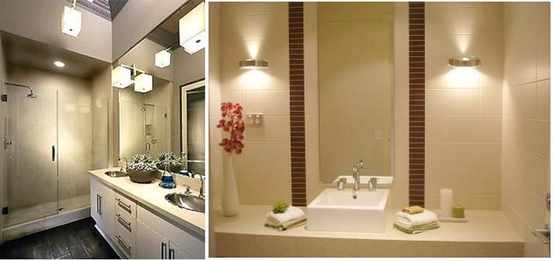 Освещение ванной комнаты с натяжным потолком: какие светильники выбрать, как расположить