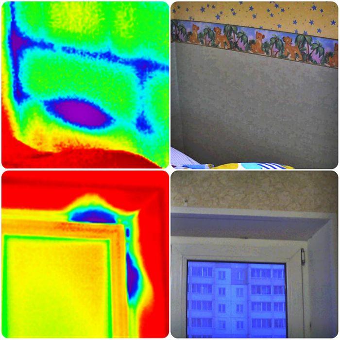 Обследование тепловизором: анализ данных тепловизионного исследования дома, стоимость процедуры