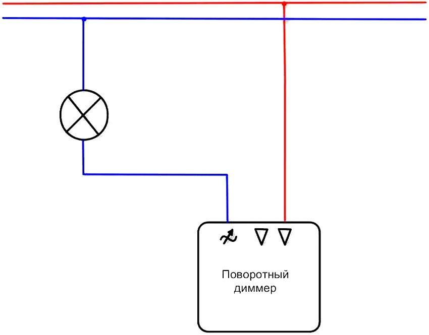 Изготовление и установка диммера своими руками