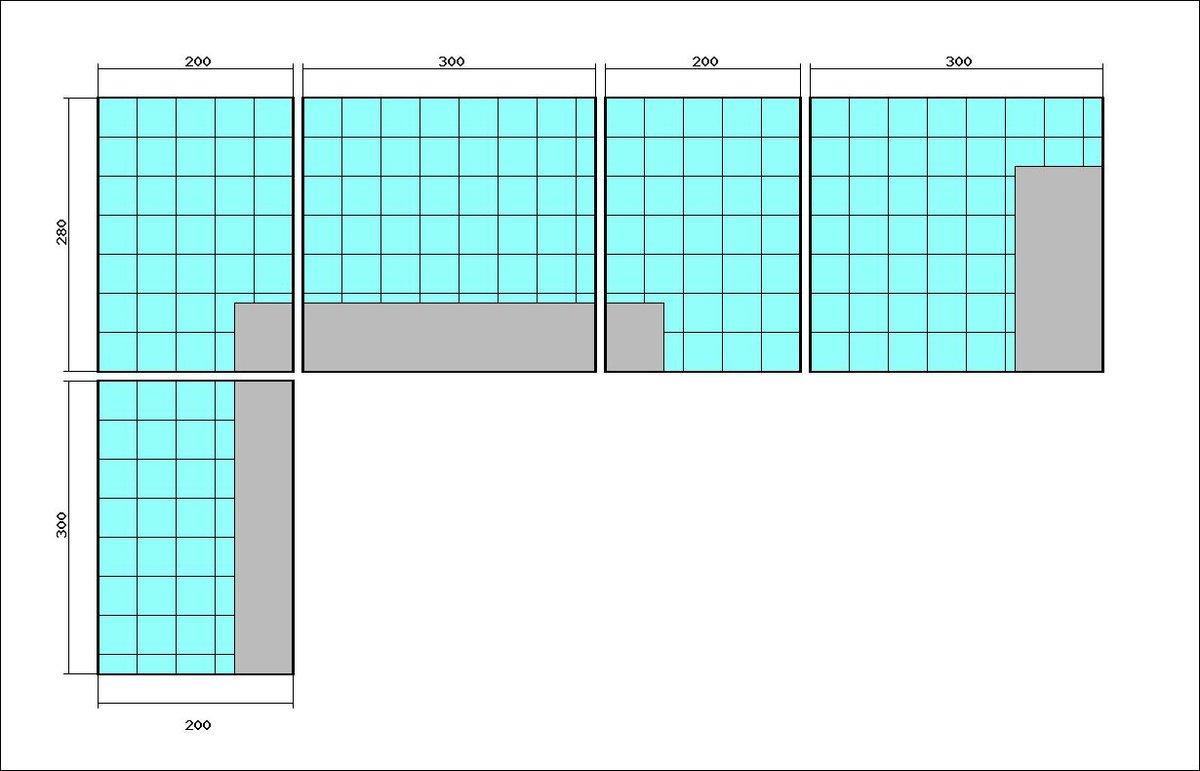 Как рассчитать плитку на пол: методы и примеры