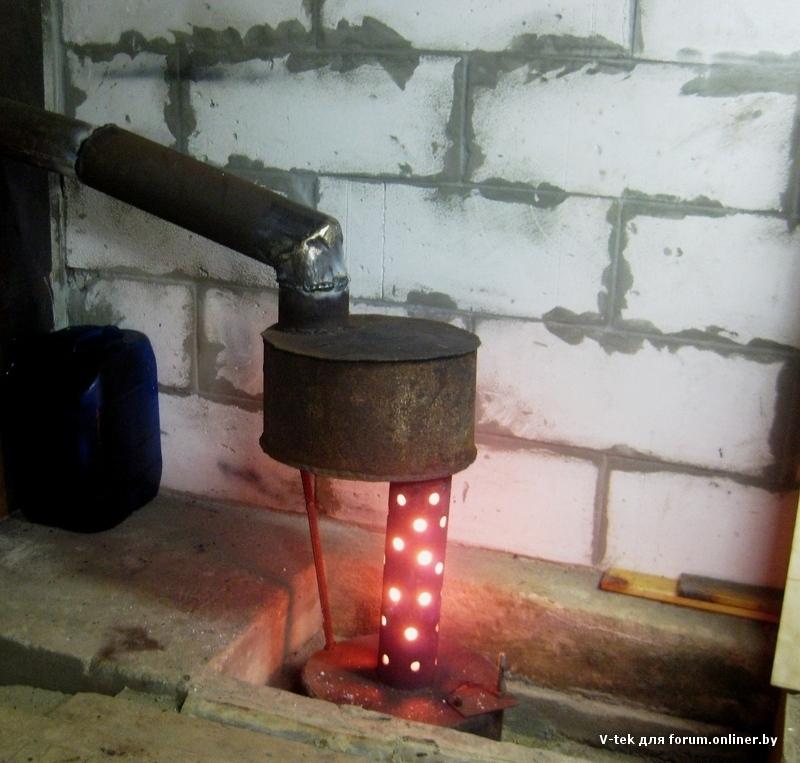 Газовый обогреватель своими руками: как сделать, техника безопасности
