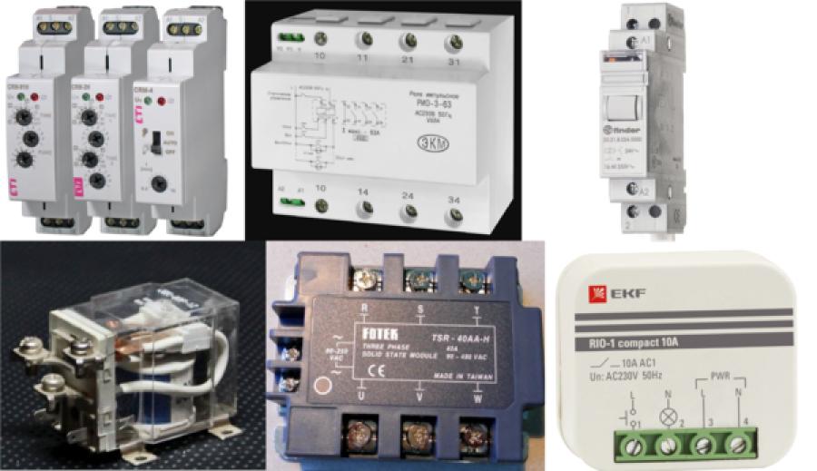 Импульсное реле для управления освещением: как работает, виды, маркировка и подключение
