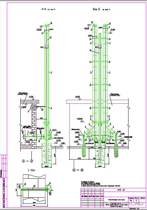 Дымовая труба для котельной - материалы для изготовления, варианты монтажа, устройство искрогасителя