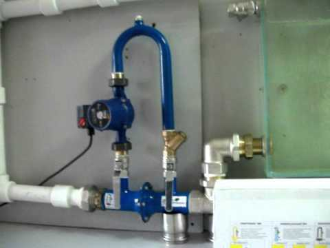 Байпас в системе отопления и что это такое