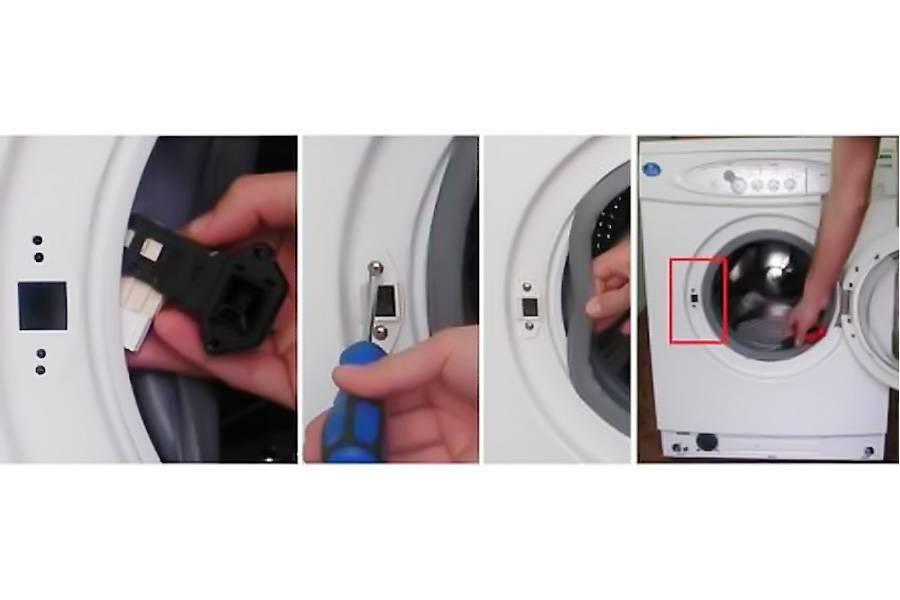 Почему блокируется дверца стиральной машинки и как открыть