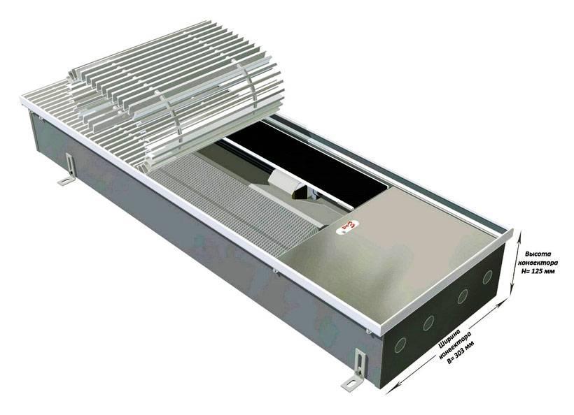 Встраиваемые конвекторы: особенности водяных конвекторов отопления, встроенных в подоконник или пол, обзор моделей