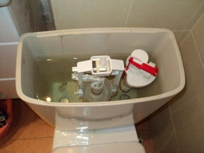 Как установить бачок на унитаз - все о канализации