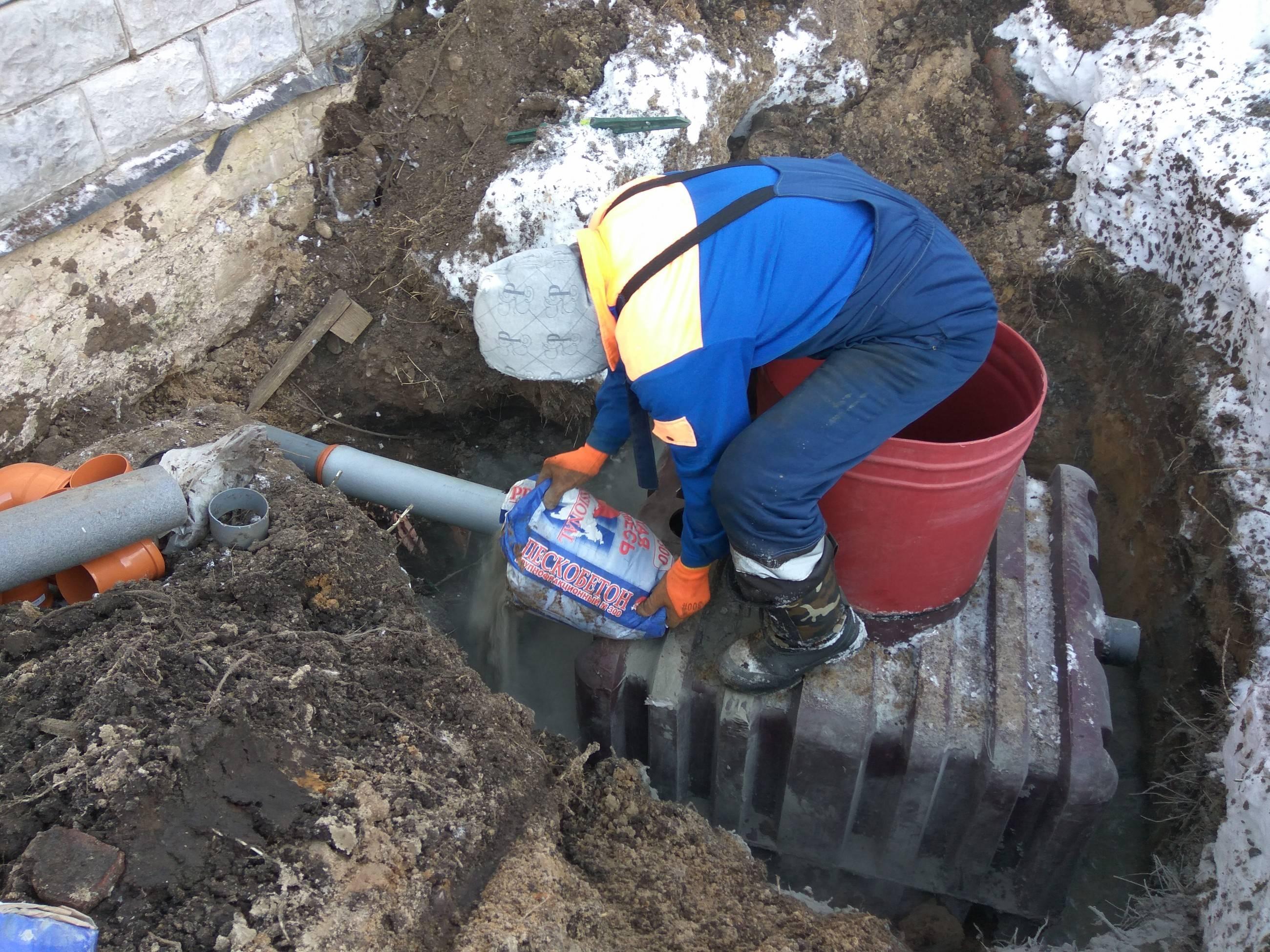 Консервация септика на зиму: видео поэтапно и наглядно