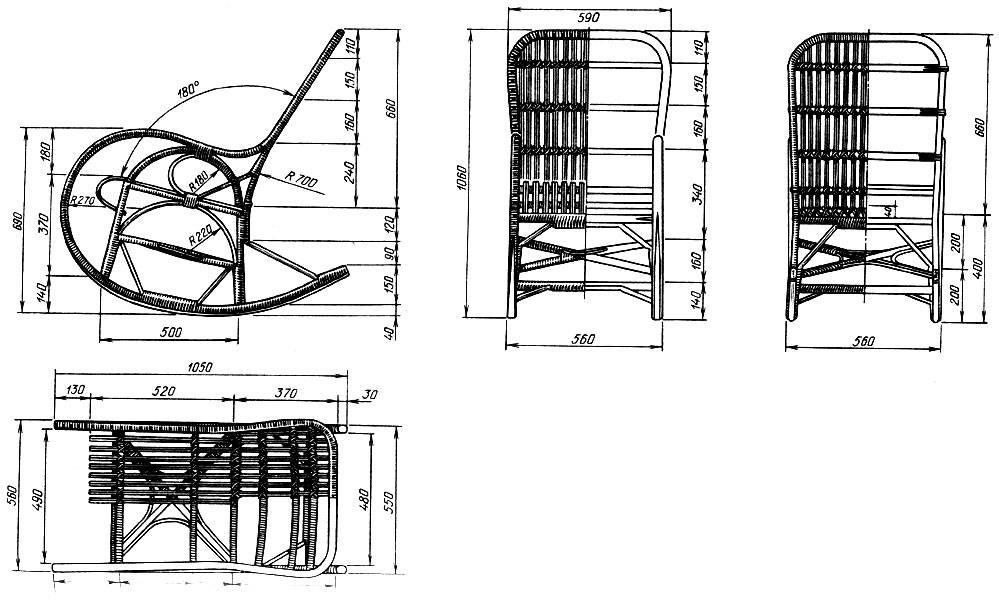 Кресло-качалка своими руками из дерева: фото, чертежи и ход работы кресло-качалка своими руками из дерева: фото, чертежи и ход работы