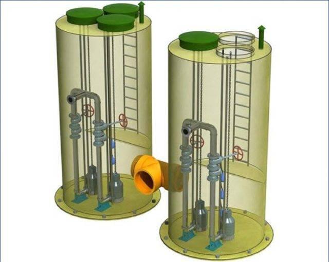 Каналазизационные насосные станции: виды и устройство