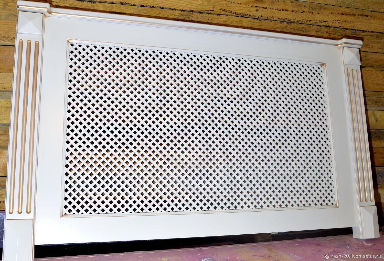 Экран на батарею отопления своими руками (38 фото): как сделать решетку радиатора, особенности изготовления