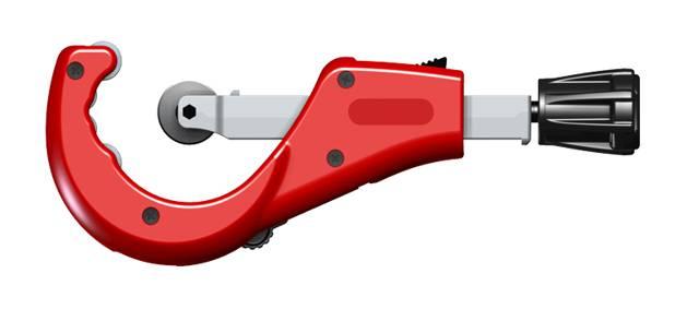 Инструменты для монтажа медных труб: трубогибы, фаскосниматели, резаки, труборезы