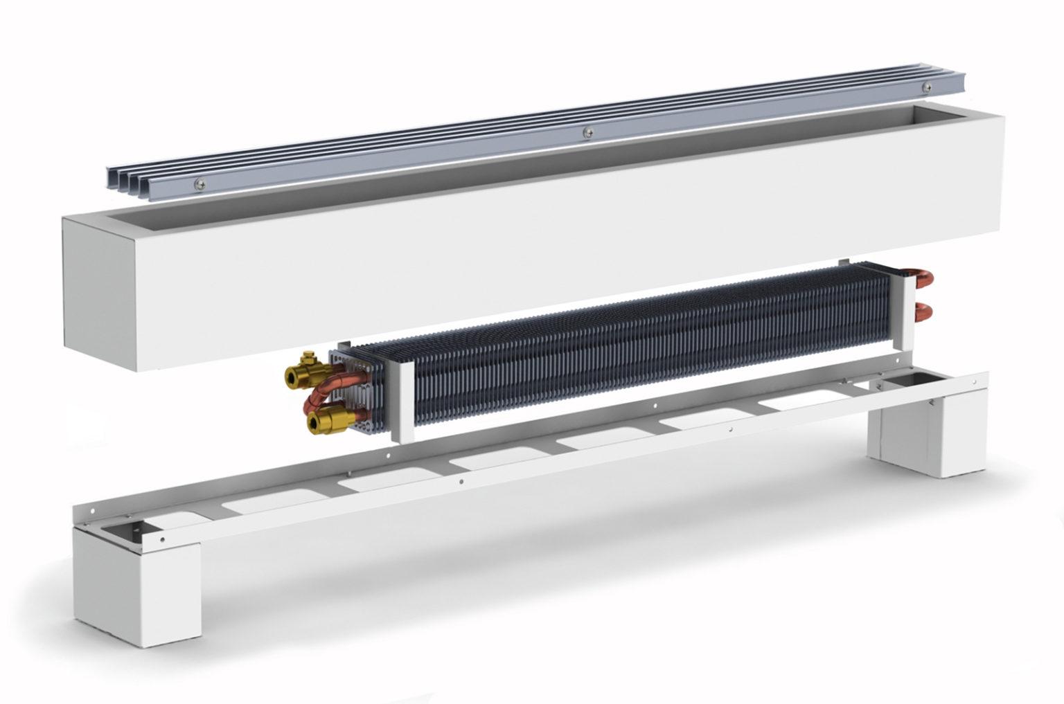 Конвекторы eva для водяных отопительных систем