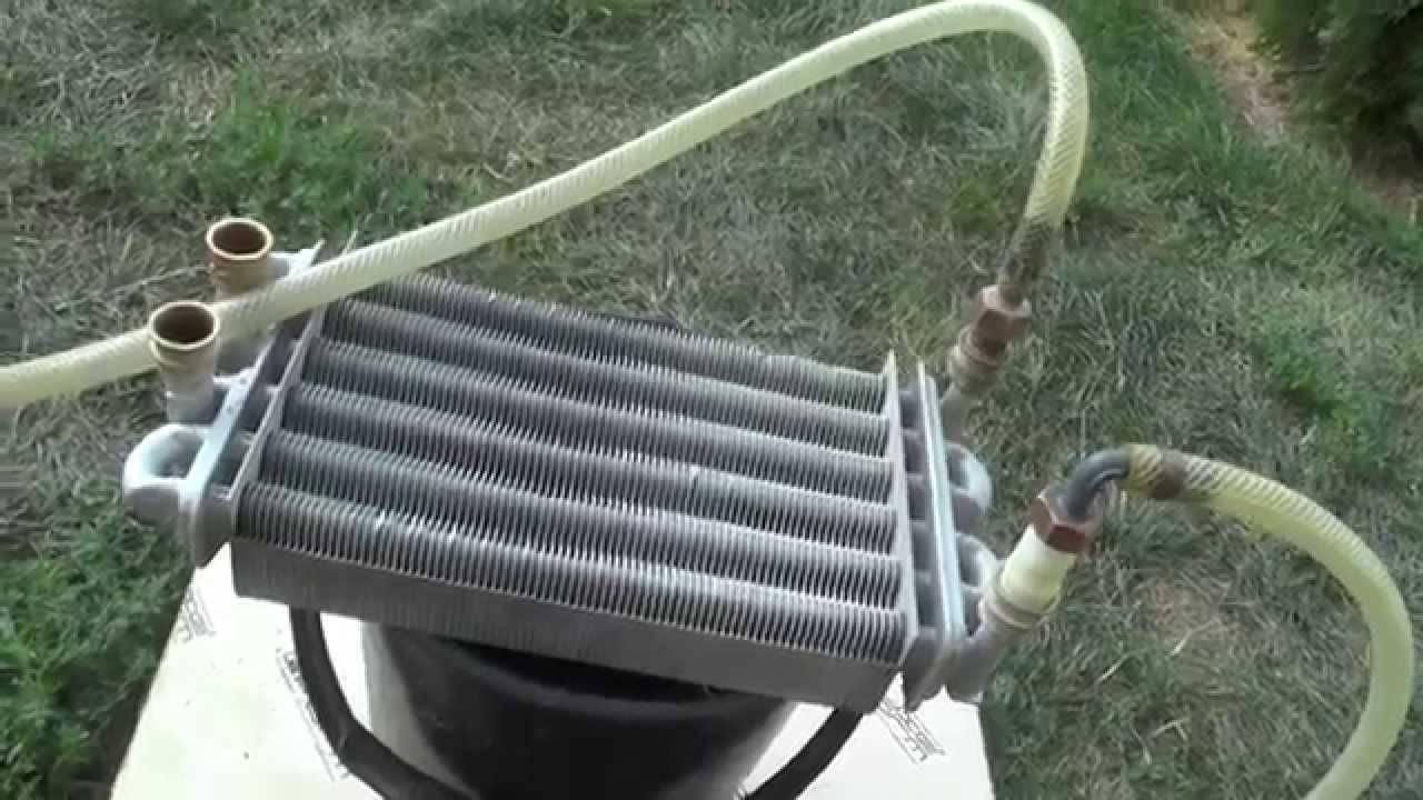 Промывка теплообменника газового котла | всё об отоплении