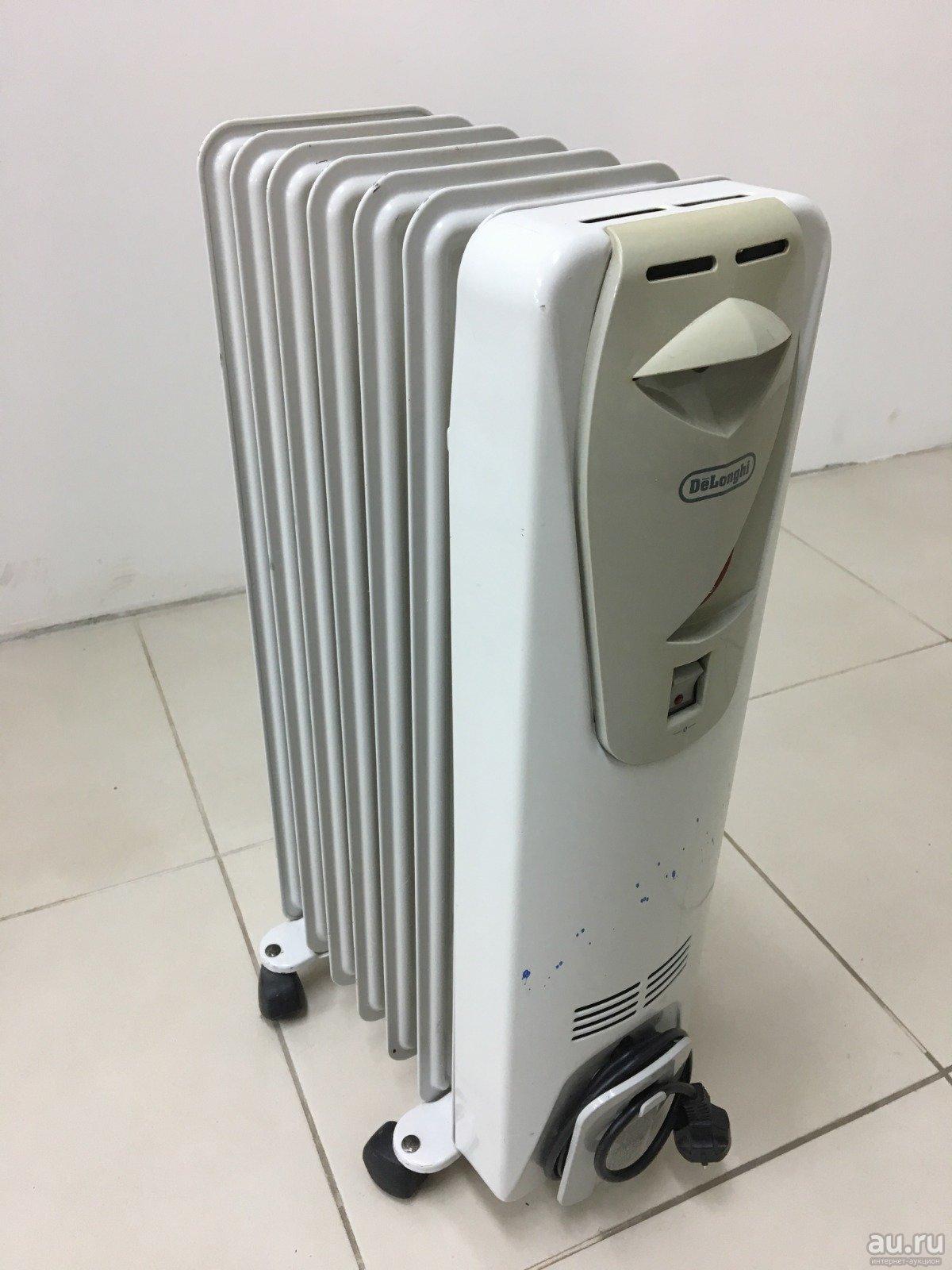 Масляные обогреватели и электрические радиаторы от de'longhi в россии