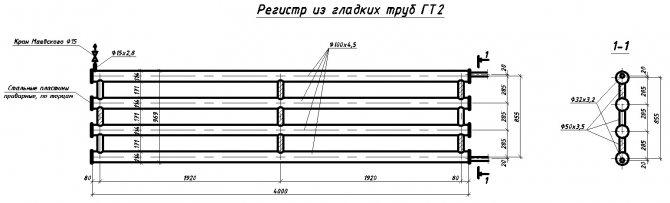 Регистры отопления: конструкции, правила монтажа + обзор 2-х самодельных вариантов