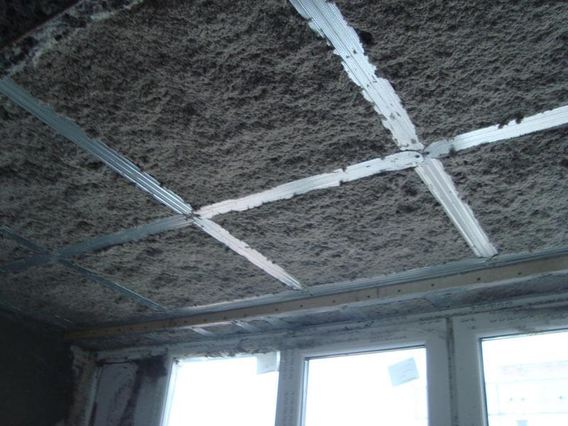 Натяжные потолки с шумоизоляцией - выбор материала