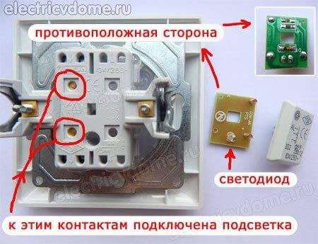 Почему энергосберегающая лампочка моргает при выключенном выключателе?