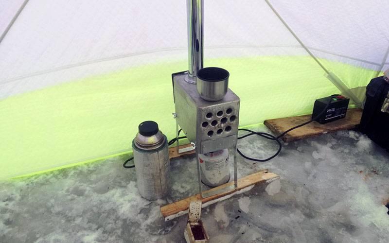 Теплообменник для палатки своими руками. выбираем теплообменник для зимней палатки