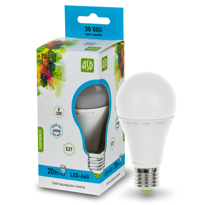 Светодиодные лампы asd: отзывы