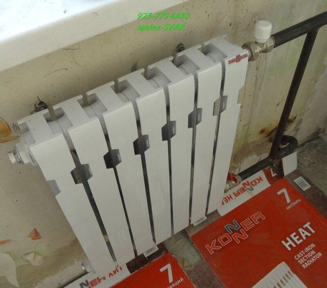 Изготовление трубчатого радиатора отопления своими руками