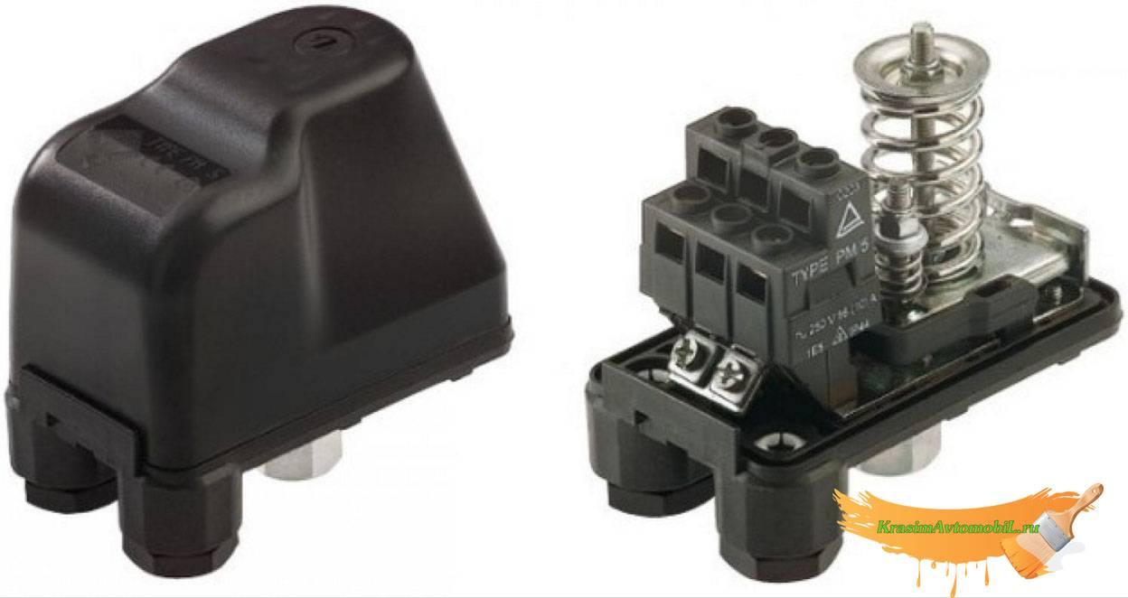 Реле давления для компрессора как подключить