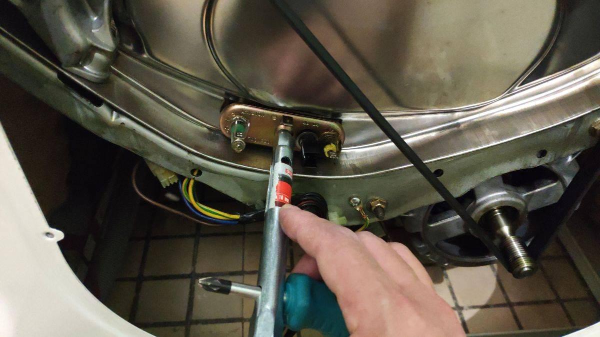 Как заменить, прозвонить и вытащить тен для стиральной машины?