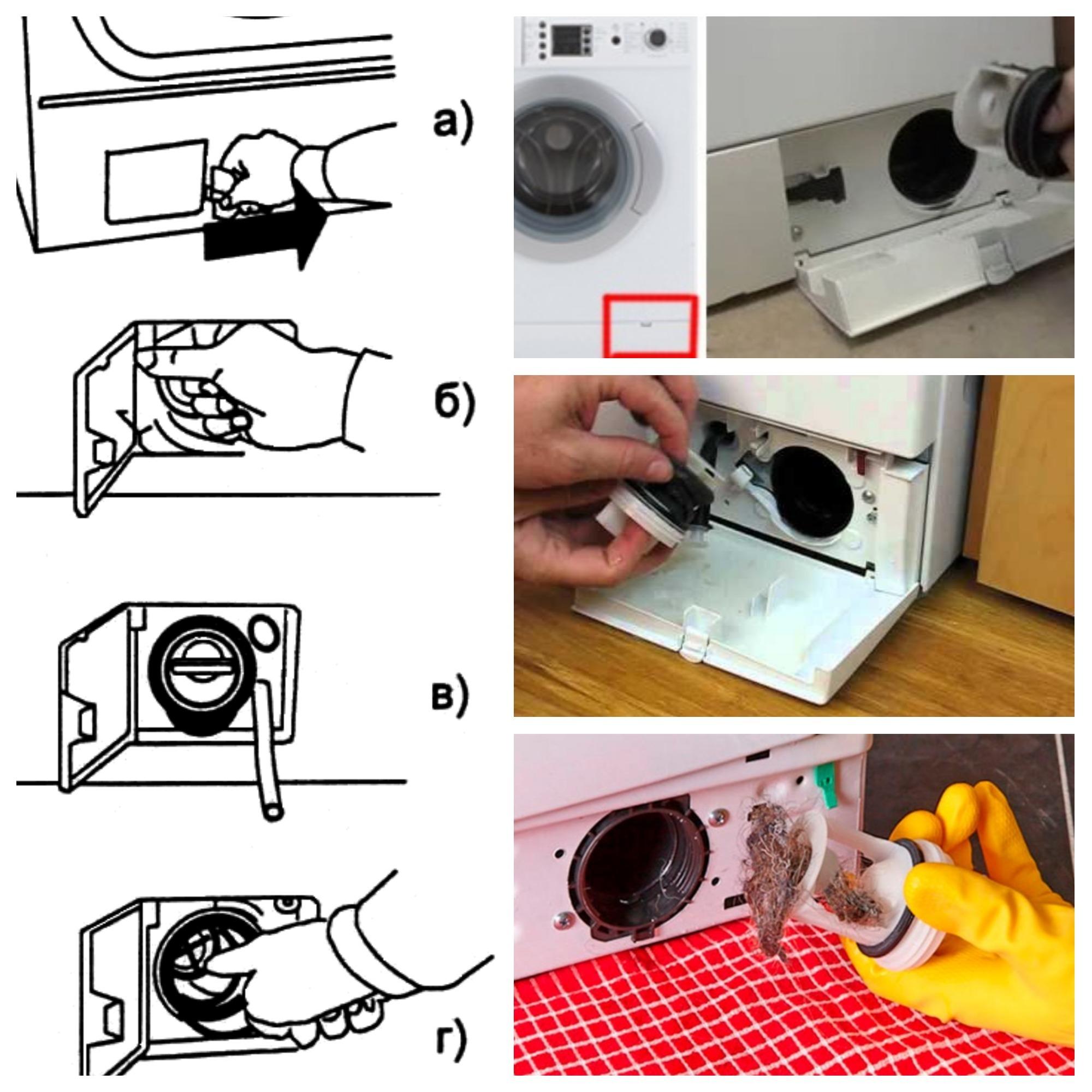 Как почистить стиральную машину автомат ✅ лимонной кислотой и фильтр от грязи
