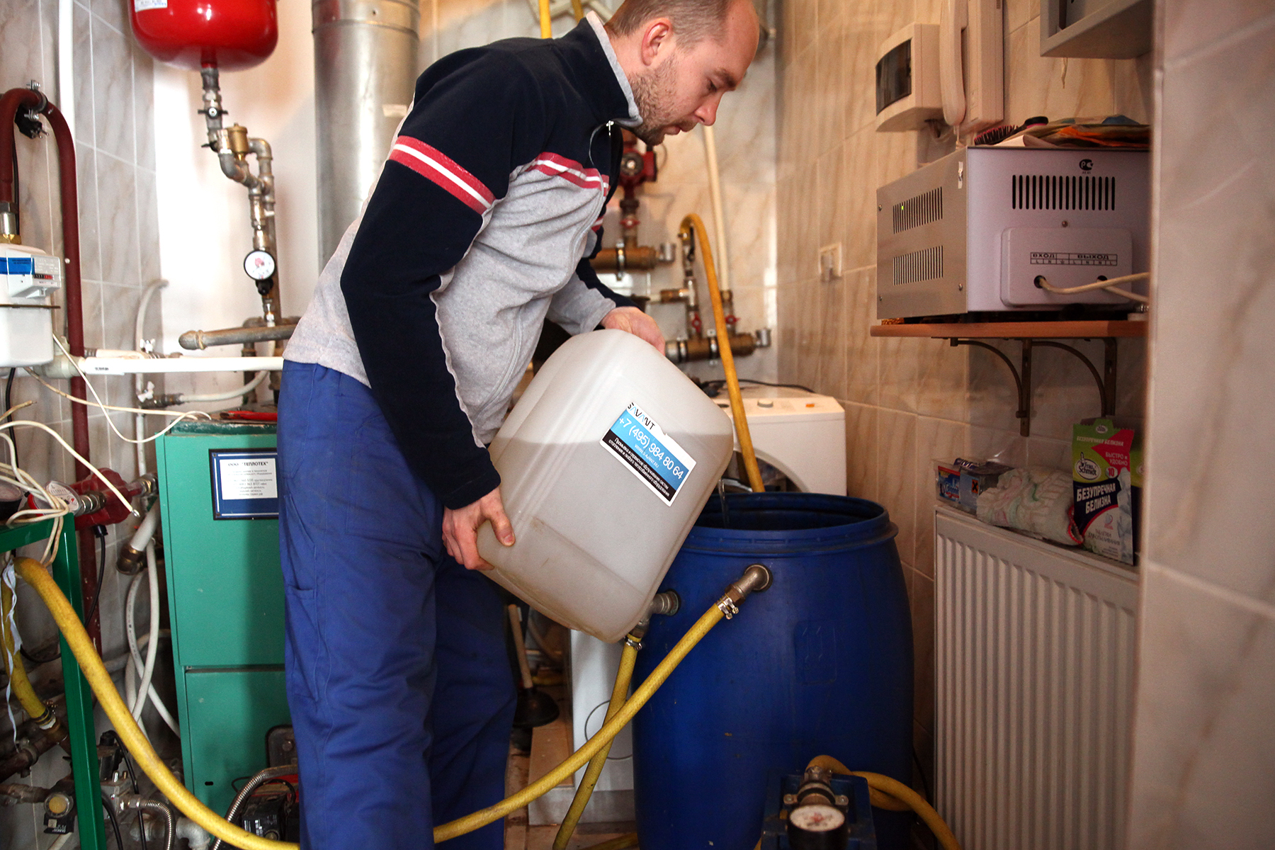 Промывка и опрессовка системы отопления: инструкция для промывки опрессовки систем отопления водоснабжения