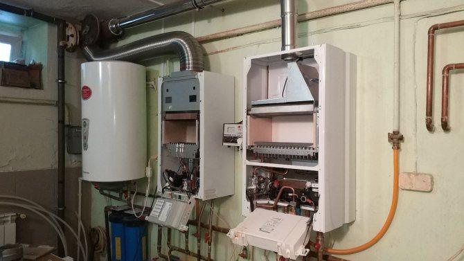 Замена газового котла в частном доме: как поменять котел напольный на настенный, демонтаж, нужен ли проект при замене газового котла