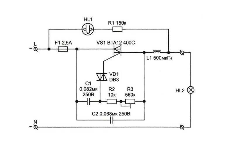 Своими руками: 5 схем сборки самодельного светорегулятора, как сделать самому, ремонт и строительство