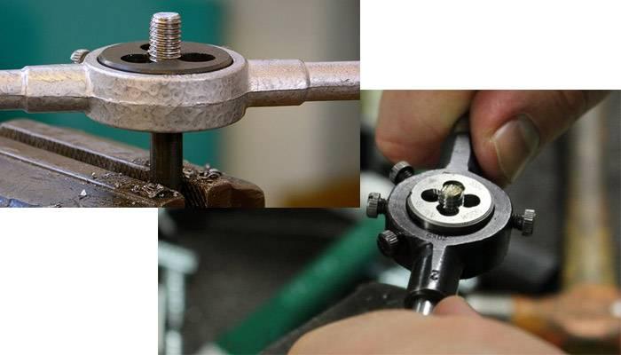 Правила нарезания трубной резьбы с помощью лерки