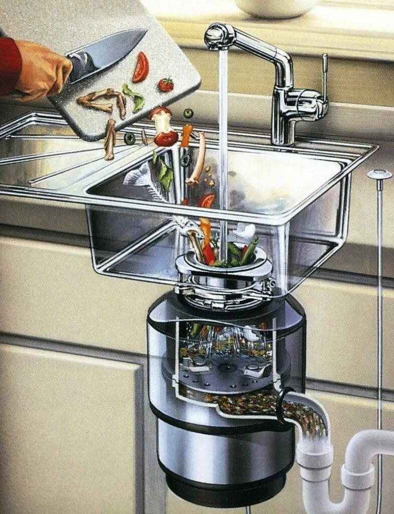 Измельчитель пищевых отходов для раковины: выбор, установка
