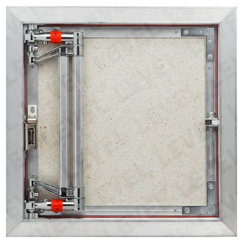 Люки ревизионные под плитку - существующие размеры и способы установки