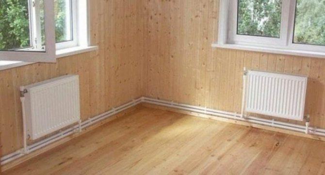 Особенности создания системы отопления в деревянном доме