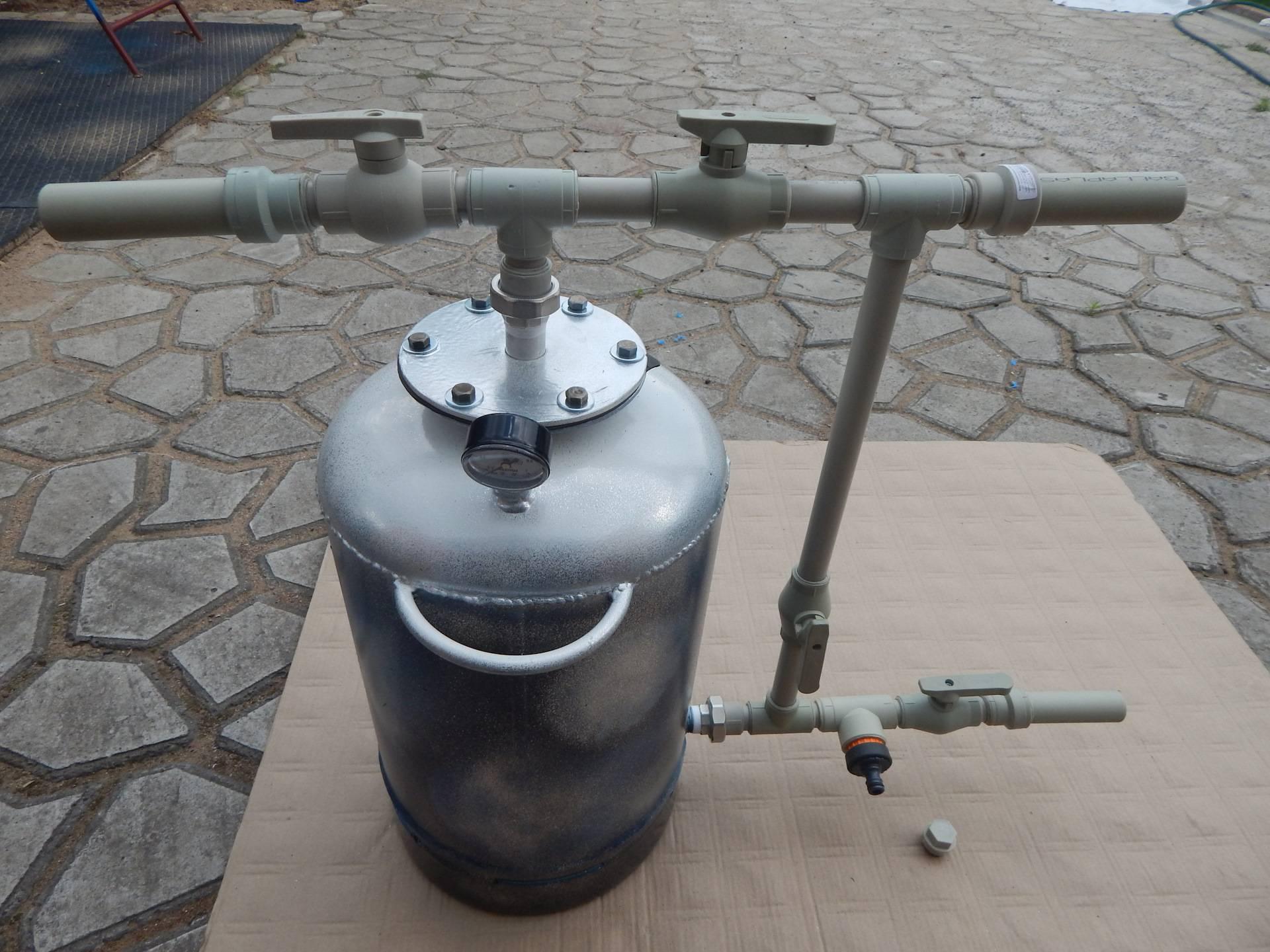 Как сменить песок в фильтре для бассейна