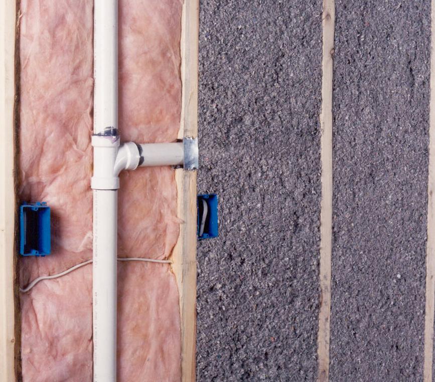 Монтаж канализации в каркасном доме