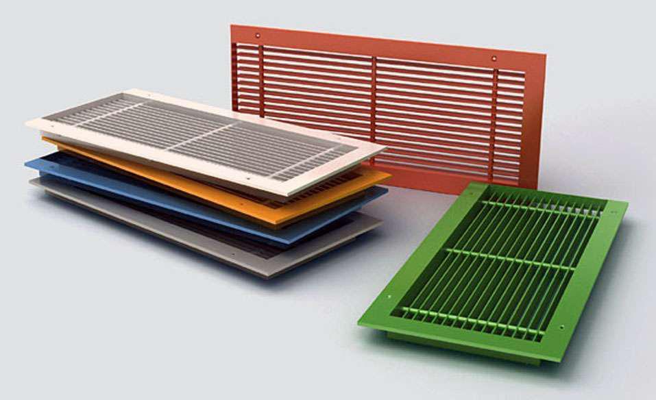 Вентиляционные решетки наружные: типы, особенности и какие лучше выбрать