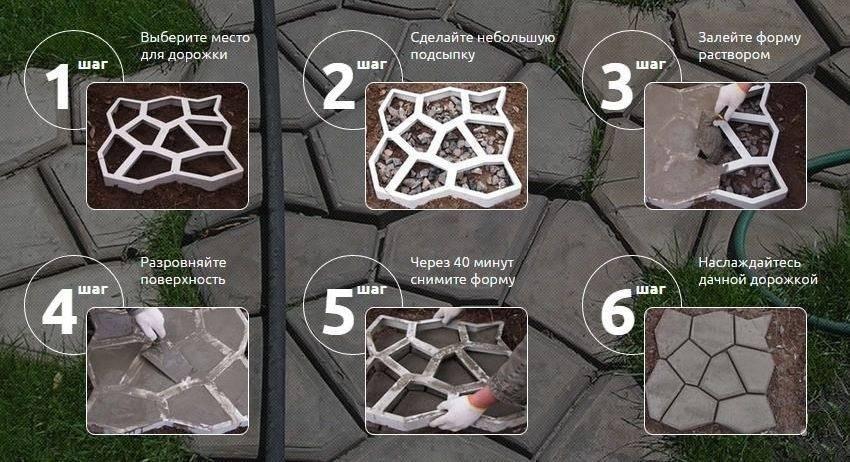 Изготовление тротуарной плитки своими руками:как изготовить в домашних условиях